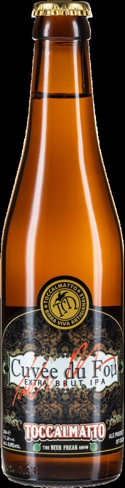 Toccalmatto beer - Cuvée du fou