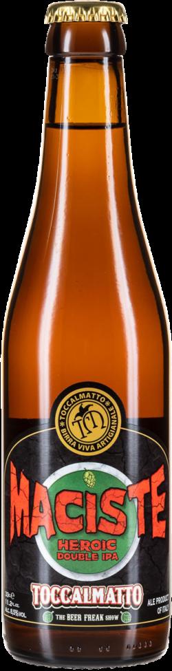 Toccalmatto beer - Maciste